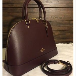 💯 Authentic Coach Sienna Leather Satchel NWT